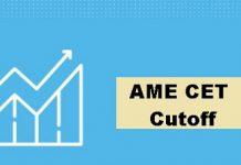 AME CET Cutoff