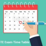MSBTE Exam Time Table