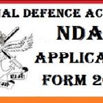 NDA Application Form 2020