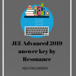 JEE Advanced 2019 answer key by Resonance