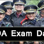 NDA Exam Date