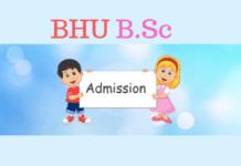 BHU BSC