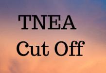 TNEA Cut Off