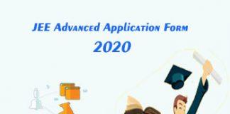 JEE Advanced Application Form 2020