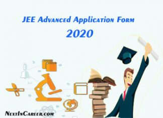 JEE Advanced Application Form 2020
