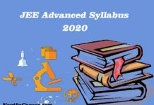 JEE Advanced Syllabus 2020