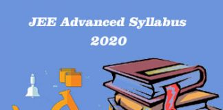 JEE Advanced Syllabus 2020