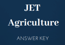 JET Agriculture Answer Key