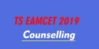 TS EAMCET Counselling 2019