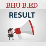 BHU B.Ed Result