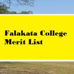 Falakata College Merit List