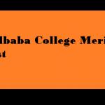 Lalbaba College Merit List