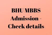BHU MBBS Admission