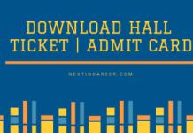 MSBTE Hall Ticket