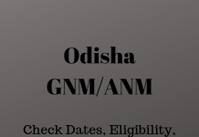 Odisha GNM/ANM