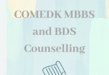 COMEDK MBBS and BDS Counselling 2020