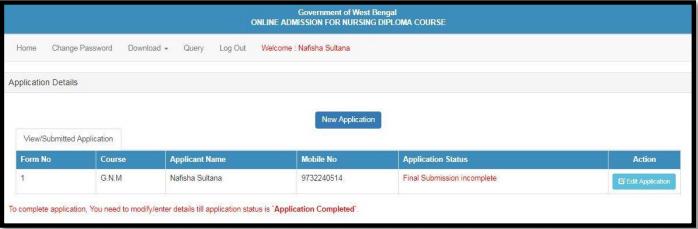 WB GNM ANM Applicant List 2019