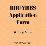 BHU MBBS Application Form