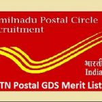 TN Postal GDS Merit List