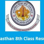 Rajasthan 8th Class Result