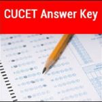 CUCET Answer Key 2020