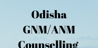 Odisha GNM ANM Counselling
