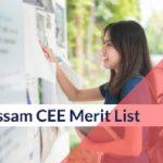 Assam CEE Merit List 2020