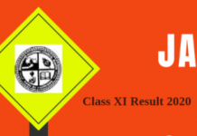 JAC Class XI Result