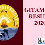 GITAM GAT Result 2020