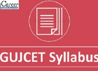 GUJCET Syllabus 2020
