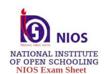 NIOS Date Sheet