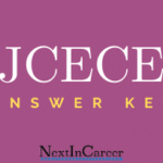JCECE Answer Key