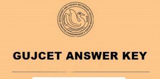 GUJCET Answer Key 2020