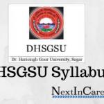 DHSGSU Syllabus