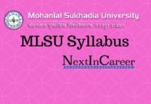 MLSU Syllabus