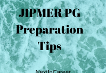 JIPMER PG Preparation Tips
