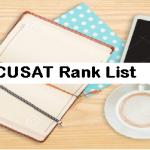 CUSAT Rank List