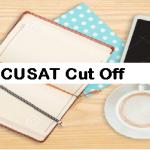 CUSAT Cut Off