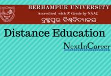 Berhampur University Distance Education