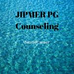 JIPMER PG Counseling