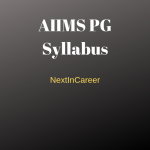 AIIMS PG Syllabus