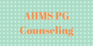 AIIMS PG Counseling