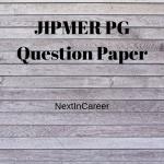JIPMER PG Question Paper