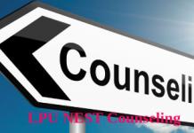 LPU NEST Couseling