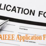 AIEEE Application Form