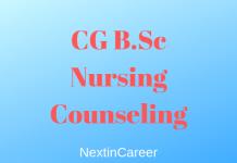 CG B.Sc Nursing Counseling