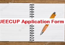 JEECUP Application Form