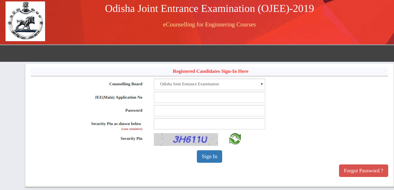 OJEE 2nd Round Seat Allotment Result
