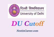 DU Cut off