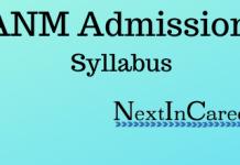 ANM Syllabus